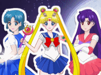 Одевалка Sailor Moon